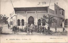 Cpa Oudjda, La Poste - Marruecos