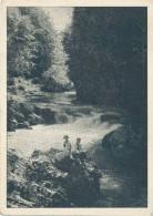 SLOVENIA - Vintgar , Kids On Rocks, Old Postcard - Slovenia