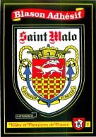 35.SAINT MALO.n°83.Blason Adhésif - Saint Malo