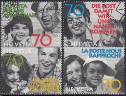 Suiza 1997 Nº 1551/54 Usado - Suiza