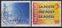 Suiza 1998 Nº 1561/62 Usado - Suiza