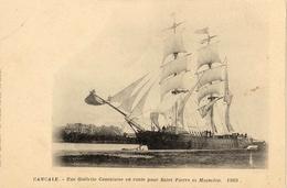 35. Cancale - N° 1503 - Goêlette Cancalaise En Route Pour Saint-Pierre Et Miquelon - Cancale