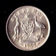 Australia 1959 Sixpence - Sixpence