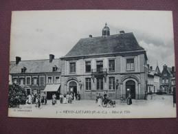 CPA 62 HENIN BEAUMONT Ex LIETARD Hotel De Ville ANIMEE - Henin-Beaumont