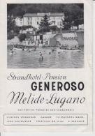 Switzerland - Melide - Lugano - Stradhotel Pension - Generoso Hotel - TI Tessin