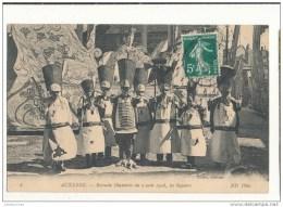 89 AUXERRE RETRAITE ILLUMINEE DU 2 AOUT 1908 LES SAPEURS CPA BON ETAT - Auxerre