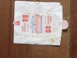 Emballage De Sucre BEGHIN-SAY Cafés Javador Grenoble 130 - Sugars