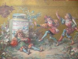 Chromo 19ème Liebig Enfants Diablotins - Liebig