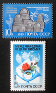 EMISSIONS 1989 - NEUFS ** - YT 5649/50 - MI 5976 + 5978 - 1923-1991 USSR