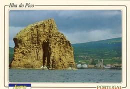 ILHA DO PICO (AÇORES) Ilheu E Vila Da Madalena, 2 Scans, PORTUGAL - Açores