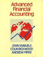 Advanced Financial Accounting By J.M. Samuels (ISBN 9780070845718) - Economics