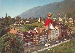 C3067 Swissminiatur Melide - Lugano - Hauptstrasse Von Appenzell / Non Viaggiata - TI Tessin