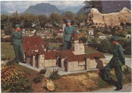 C3068 Swissminiatur Melide - Lugano - Chateau De Colombier / Non Viaggiata - TI Ticino