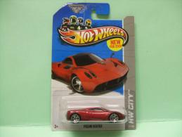 PAGANI HUAYRA - HW City 2013 - Street Power - HOTWHEELS Hot Wheels Mattel 1/64 US Blister - HotWheels
