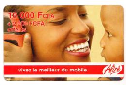 SENEGAL PREPAYEE ALIZE 10 000 FCFA