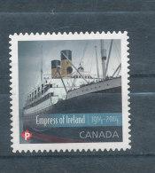 "Paquebot - ""Empress Of Ireland"" - 1952-.... Règne D'Elizabeth II"