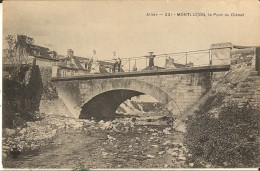 Montlucon-le Pont Du Dienat-cpa - Montlucon