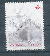 HMS Erebus - Gravure En Relief - 1952-.... Règne D'Elizabeth II