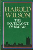 The Governance Of Britain By Wilson, Harold - Books, Magazines, Comics