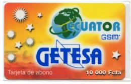 GUINEE EQUATORIALE PREPAYEE GETESA - Equatorial Guinea