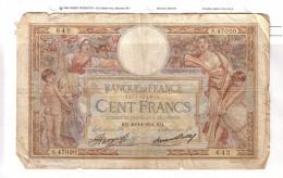 BILLET 100 FRANCS BON ETAT GENERAL 20/12/1934 - 1871-1952 Antiguos Francos Circulantes En El XX Siglo