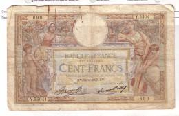 BILLET 100 FRANCS BON ETAT GENERAL 24/06/1937 - 100 F 1908-1939 ''Luc Olivier Merson''