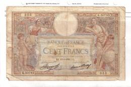 BILLET 100 FRANCS BON ETAT GENERAL 12/03/1936 - 1871-1952 Anciens Francs Circulés Au XXème