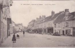 BELLEME - Place De La Liberté - Nombreux Commerces - Animé - Autres Communes