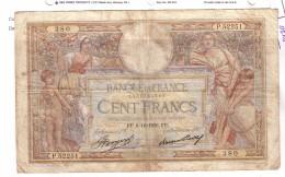 BILLET 100 FRANCS BON ETAT GENERAL 08/10/1936 - 1871-1952 Antiguos Francos Circulantes En El XX Siglo