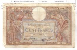 BILLET 100 FRANCS BON ETAT GENERAL 14/04/1938 - 1871-1952 Anciens Francs Circulés Au XXème