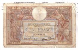 BILLET 100 FRANCS BON ETAT GENERAL 13/04/1939 - 1871-1952 Antiguos Francos Circulantes En El XX Siglo