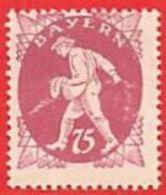 MiNr.186  Xx Altdeutschland Bayern - Bayern