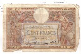 BILLET 100 FRANCS BON ETAT GENERAL 28/03/1935 - 1871-1952 Antiguos Francos Circulantes En El XX Siglo