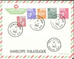 Algérie - Enveloppe Philatélique - Par Avion - Oran - 1965 - Algerije (1962-...)