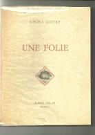 Sacha Guitry : Une Folie - Théâtre