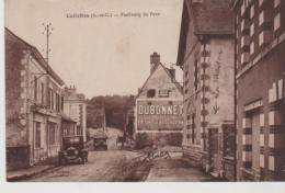 Loir Et Cher CELLETTES Faubourg Du Pont  (publicité Dubonnet) - France