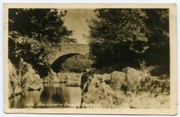 LAKE DISTRICT : ESKDALE - DALEGARTH BRIDGE / POSTMARK - BOOT (DUPLEX) - Cumberland/ Westmorland