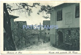 38410 ITALY TRENTO TRENTINO SANCTUARY OF PINÉ HOUSE OF THE PASTORELLA D. TARGA CIRCULATED TO ARGENTINA POSTAL POSTCARD - Non Classés