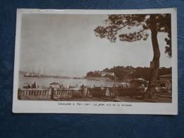 Cavalaire Sur Mer  La Jetée Vue De La Terrasse - Animée - Ed. Tardy - Circulée - L256 - Cavalaire-sur-Mer