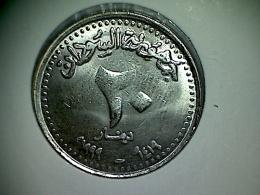 Sudan 20 Dinars 1999 - Soudan