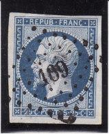 France 1852 - N° 10 - Oblitération PC 189 AURIOL (12) Petit Aminci - Très Beau D'aspect - Marcophily (detached Stamps)