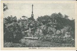 Lazio-rieti-fara Sabina Monumento Ai Caduti Veduta Anni 40 - Italia