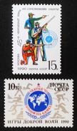 EMISSIONS 1990 - NEUFS ** - YT 5757 + 5760 - MI 6094 + 6097 - 1923-1991 USSR