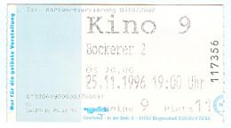 """Eintrittskarte Kino """"Der Bockerer II – Österreich Ist Frei"""" Karl Merkatz 1996 2 Biglietto Entrada Kaartje Bilet Ticket - Eintrittskarten"""