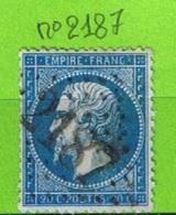 OBLIT GC N°2187 MANOSQUE - BASSES ALPES - Marcophilie (Timbres Détachés)