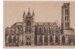 3016  Postal   Francia  Limoges Catedral - Limoges