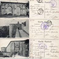 LANGRES - 3 CPA - La Porte Gallo Romaine - Henri IV - La Tour St Ferjeux - Cachet: 21° Rgt D' Infanterie    (87234) - Langres
