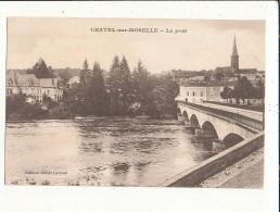 88 CHATEL SUR MOSELLE LE PONT CPA BON ETAT - Chatel Sur Moselle