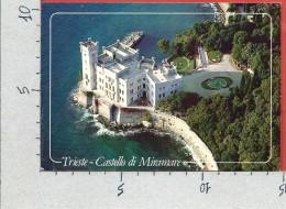 CARTOLINA VG ITALIA - TRIESTE - Castello Di Miramare - 10 X 15 - ANN. 1998 - Trieste