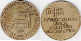 Medaille Commèmorative  HERDORF 17-09-1972. Sport Muss Spiel Bleiben - Allemagne